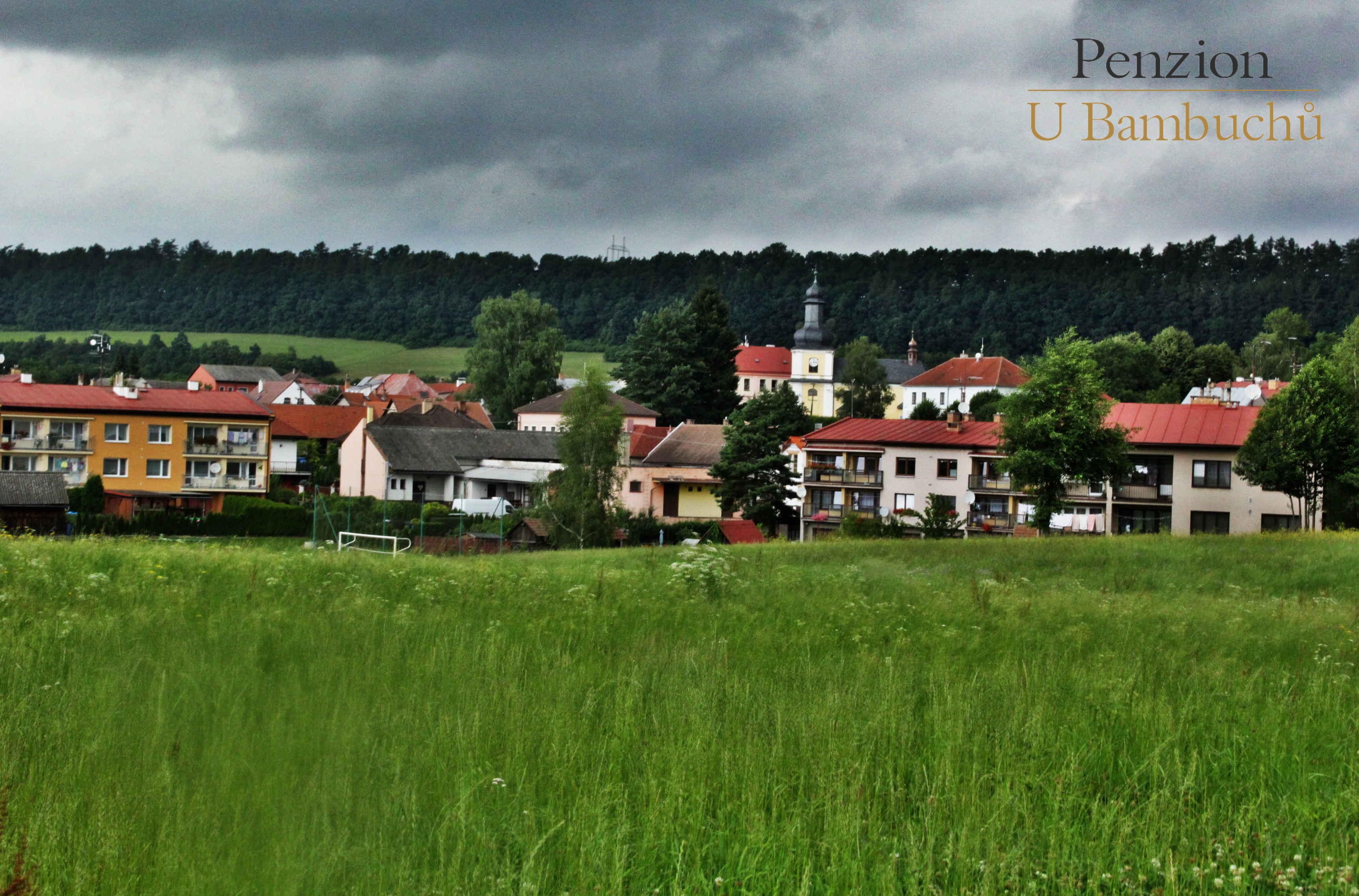 Libice nad Doubravou, okolí penzionu UBambuchů