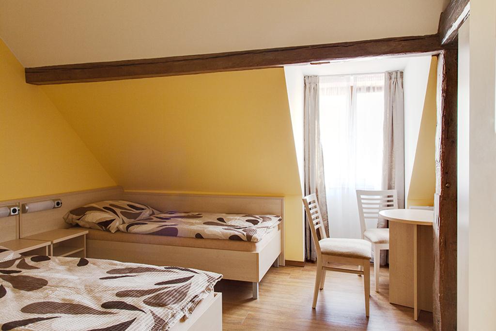 Pohodlné pokoje
